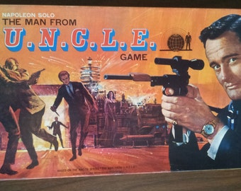 Vintage (1965) Man from Uncle board game published by Ideal. Complete.