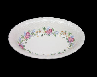 Vintage (1930s) Simpsons Potters Finsbury oval vegetable serving bowl made in England.