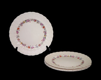 Vintage (1930s) Simpsons Potters SIM6 dinner plate made in England. Sold individually.