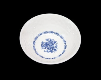 Vintage Mayfair Royal Florence blue-and-white cereal bowl made in Japan. Sold individually.