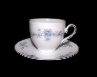 Mid-century Winterling Schwarzenbach WIG48 cup and saucer set made in Germany. Sets sold individually.