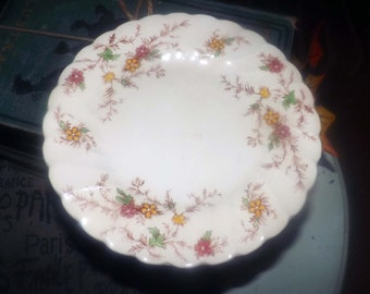 Mid-century Myott Heritage M411PU bread, dessert, side plate made in England. Sold individually.