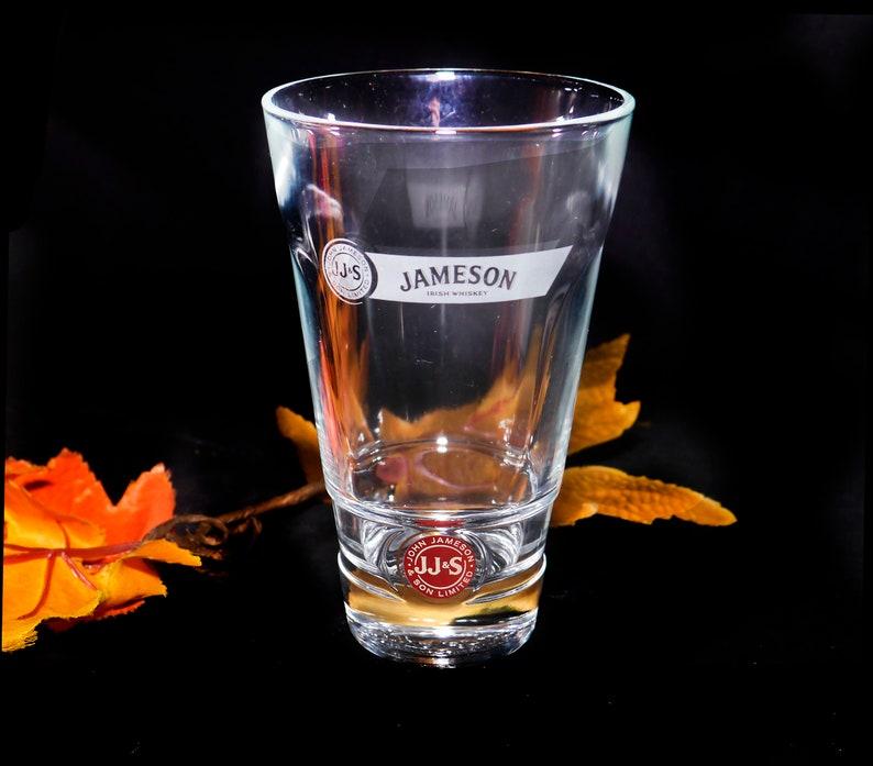 Vintage 1980s Jameson Irish Whisky cocktail glass. image 0