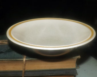 Vintage (1980s) Hearthside Garden Festival stoneware cereal bowl. Vintage stoneware made in Japan. Sold individually.
