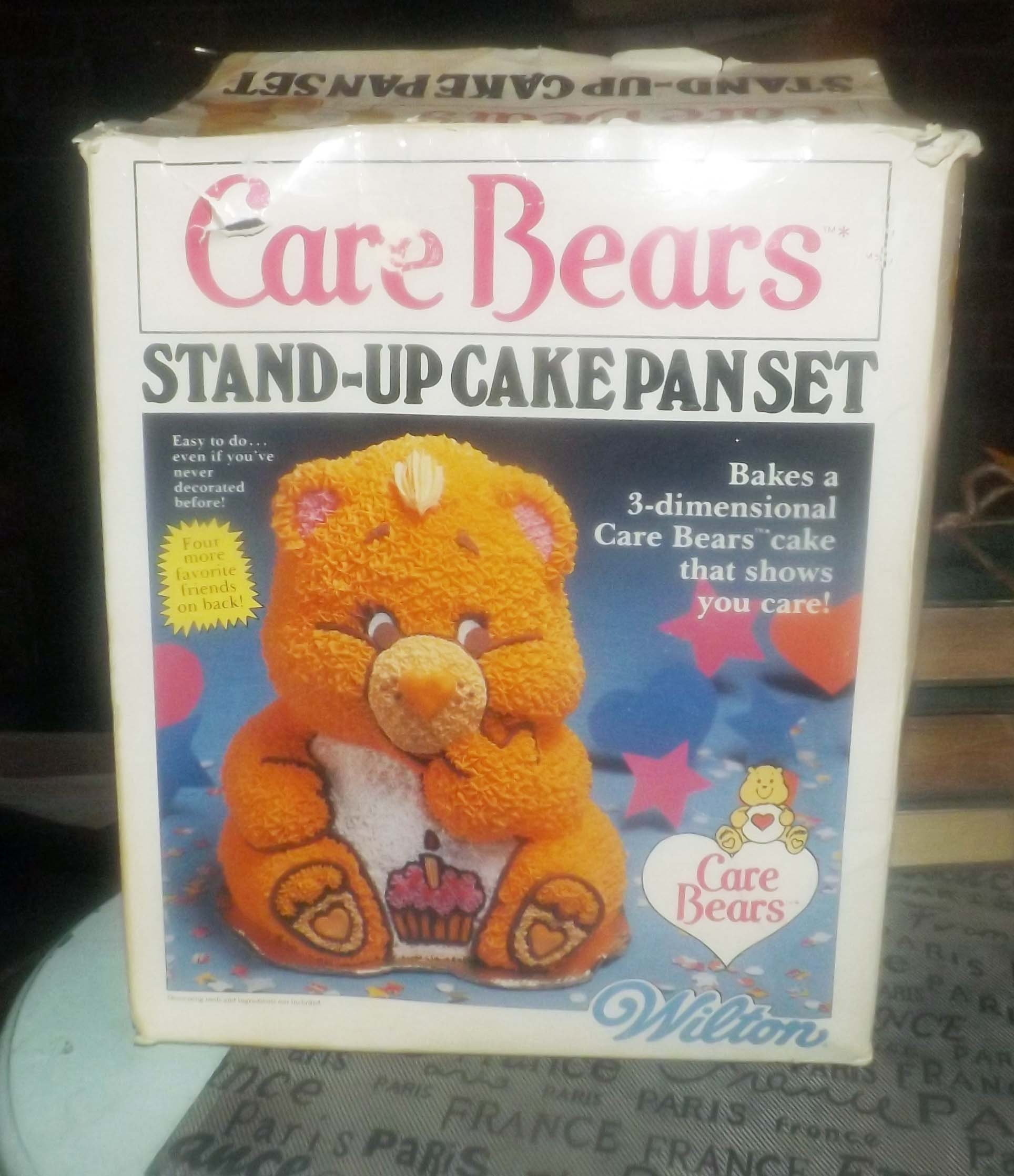 Vintage 1984 Wilton American Greetings 3 Piece 3d Stand Up Care
