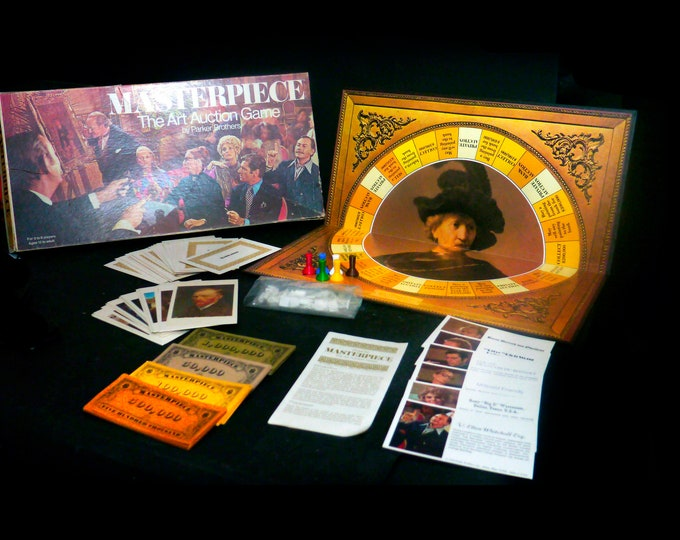 Vintage (1970) Masterpiece Board Game published by Parker Brothers.