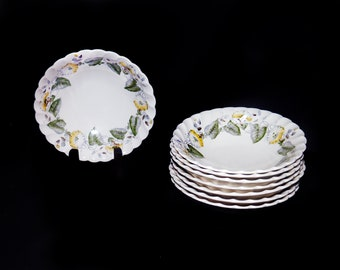 Vintage (1960s) Myott Staffordshire Westmoreland cereal bowl. Old Chelsea ironstone made in England. Sold individually.