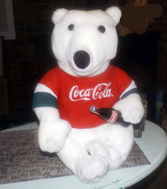 Polar Beverages Collectible Plush Bear Orson