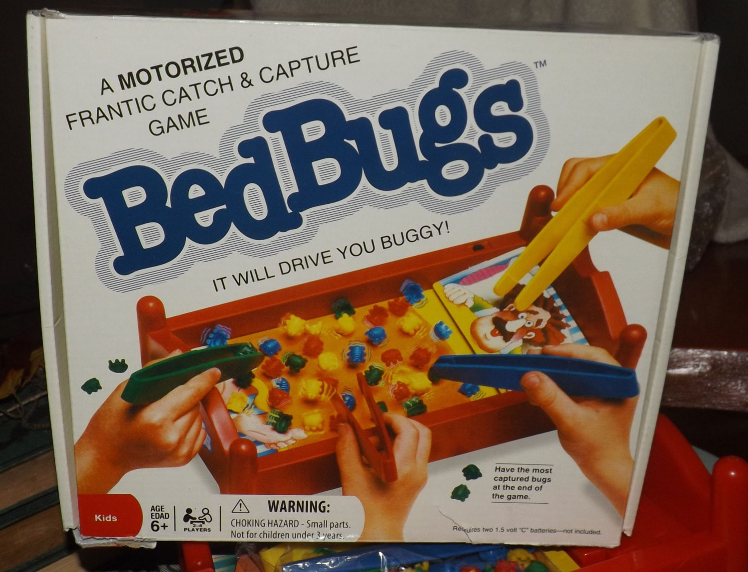 Vintage 1995 Bed Bugs Board Game Published By Patch Etsy