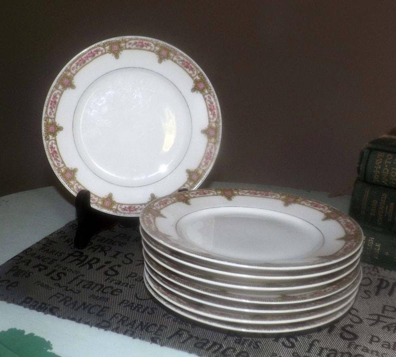Ceramics & Porcelain Lanternier Limoges Plate Decorative Arts New Fashion Antique A