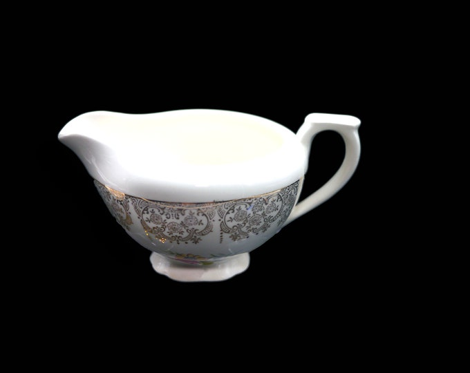 Early mid-century Canonsburg Golden Fragrance creamer or milk jug made in the USA.