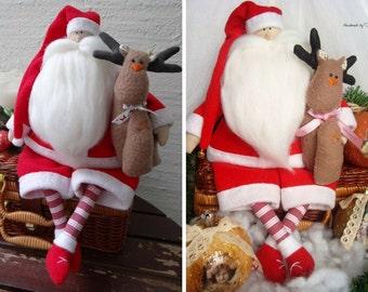 Santa Claus Symbols Etsy