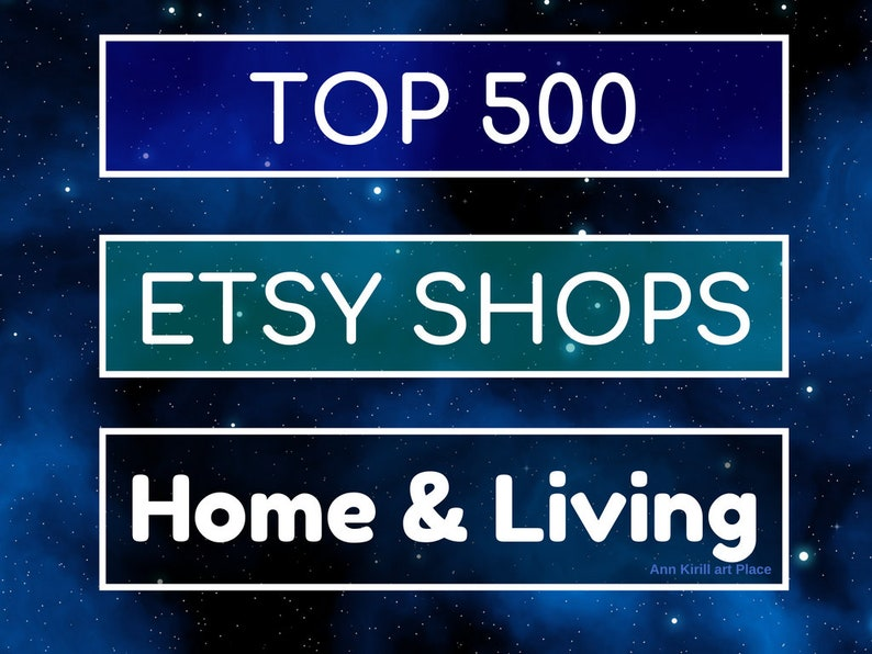 40af641dac833 Top Etsy HOME - LIVING Category Sellers, Etsy Best Sellers, Top Selling  Shops, Popular Home & Living, Best Selling Items, How to Sell Info