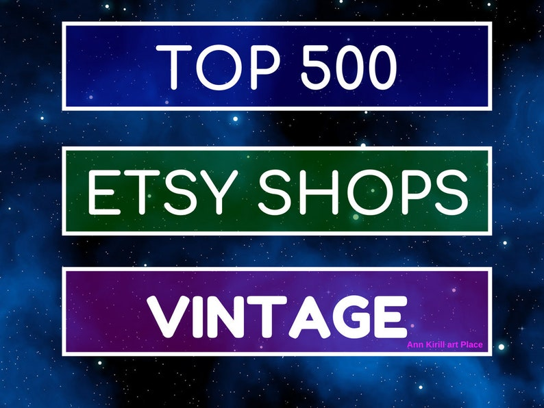 92a35ed331 Top Etsy sellers in VINTAGE category Top selling vintage | Etsy