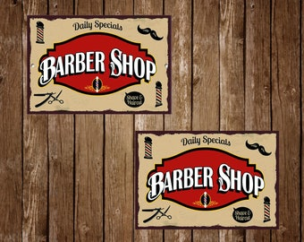 Home Furniture Diy 701 Barber Shop Barber Shop Signs Metal Sign Barber Shop Sign Modern Style Kisetsu System Co Jp