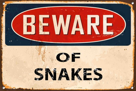 Beware of the Attack Cat Metal Sign Vintage Style Home Door Wall Plaque 392