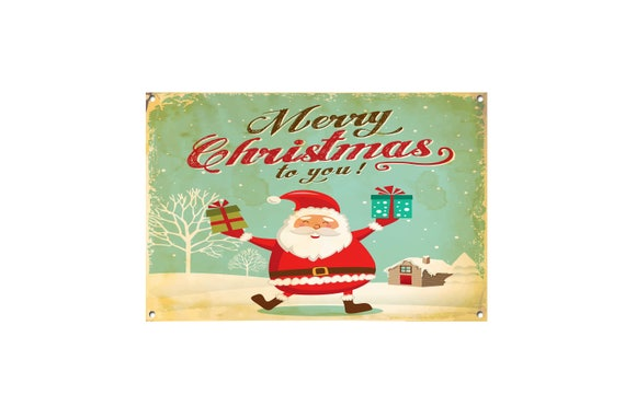 Mery Christmas.Merry Christmas Metal Sign Christmas Signs Christmas Decor Christmas Plaque Signs Xmas Plaque Xmas Decoration Merry Christmas Art 984