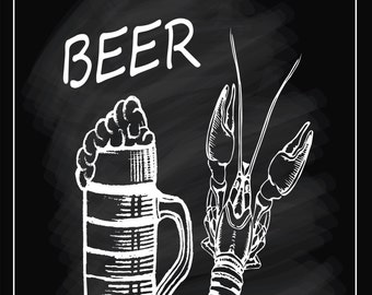 Beer, Metal Sign,  No.793