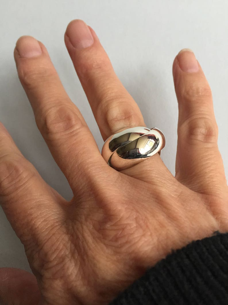 Which Hand Wedding Ring Female.Sterling Silver Chunky Russian Wedding Ring Womens Or Mens Heavy Silver Ring Chunky Silver Ring Wide Silver Ring Rolling Ring