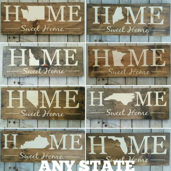 Remarkable Alaska Home Sweet Home Alaska Sign Alaska Decor Alaska Alaska Love Alaska Home Decor Rustic Decor Home Decor State Art 9X24 Home Interior And Landscaping Ologienasavecom