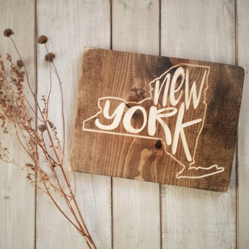 New York Sign New York Decor New York New York Love New Etsy