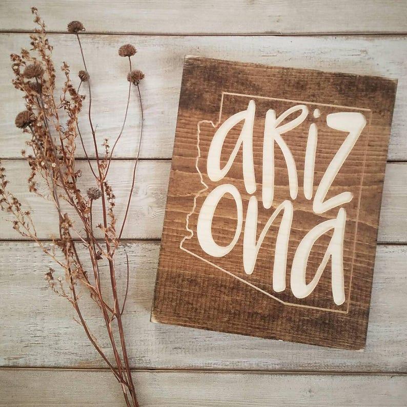 Arizona Sign Decor Love
