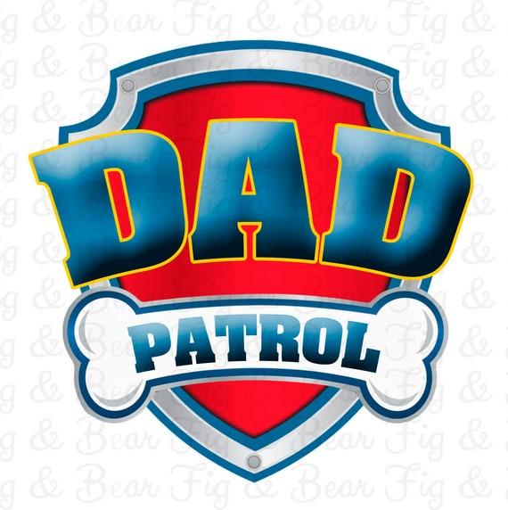 a5135628 Paw patrol birthday dad patrol shirt dad of the birthday boy etsy jpg  570x572 Dad patrol