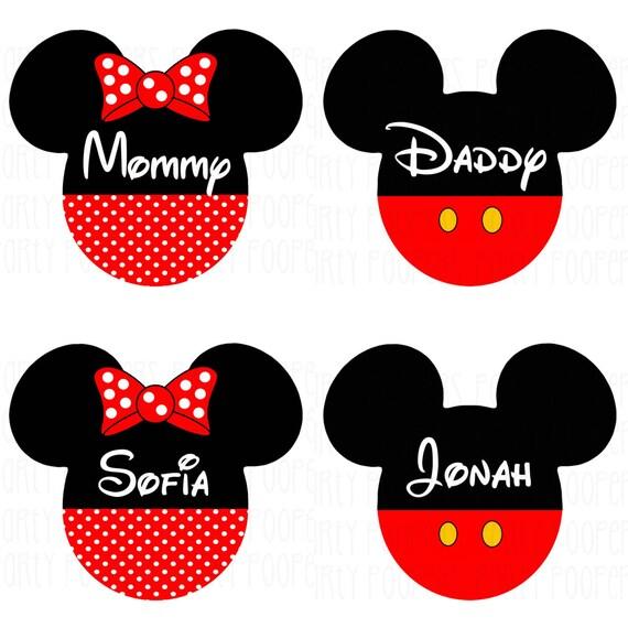 Disney vacaciones camisetas Mickey Mouse y Minnie Mouse hierro | Etsy