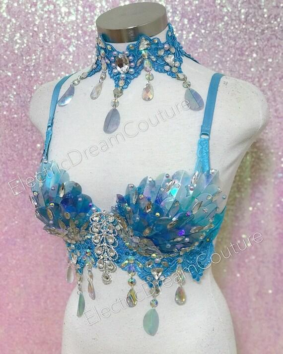 9ad02c1733 Rave Bra Irridescent Unicorn bra collection Mermaid Bra
