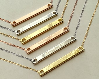 Meaningful Necklace Etsy