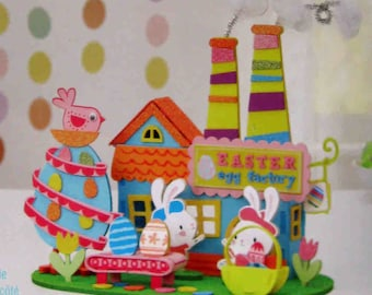 Easter Bunny Craft Kit Bunnies Farmers Market Etsy