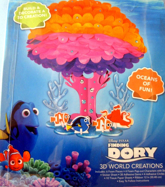 Finding Dory Build Your Dory Model Kit