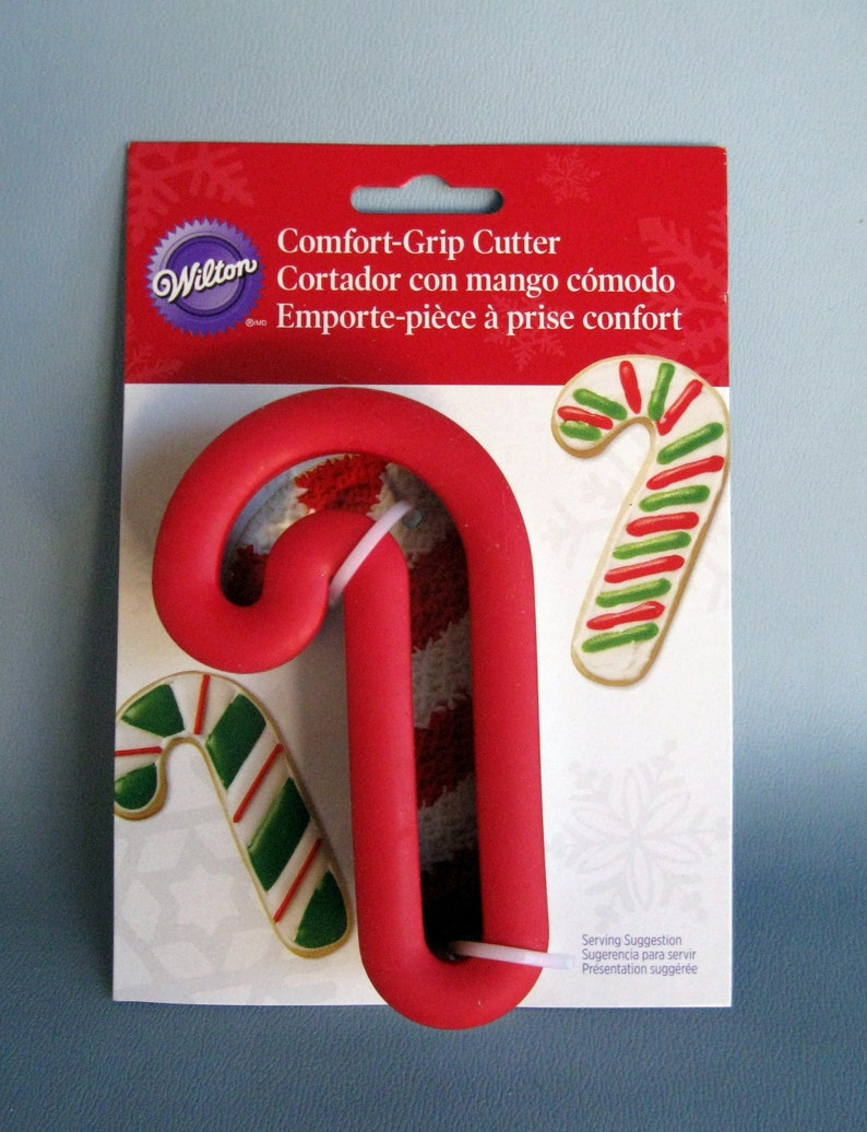 Wilton Candy Cane Christmas Cookie Cutter With Comfort Grip Make Candy Canes For Your Christmas Tree