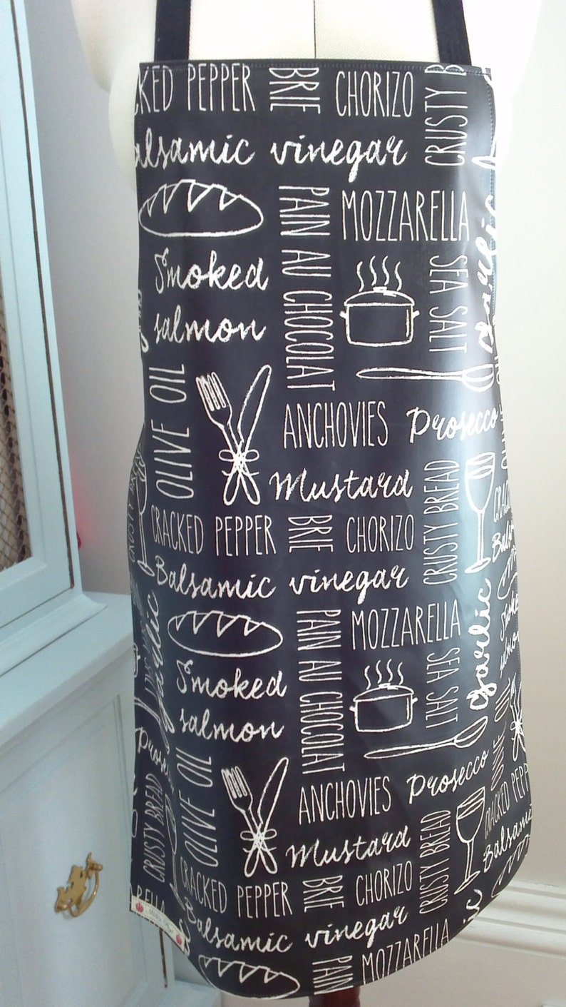 Baking BLACKBOARD Wipe Clean Apron Oilcloth Apron Cooking Wipe Clean Apron Barbeques Men/'s Gift Men/'s Apron Father/'s Day Gift BBQ