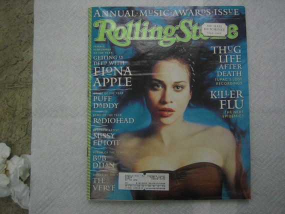 a3d12b9d8c ROLLING STONE magazine January 22 1998 Music Awards Issue