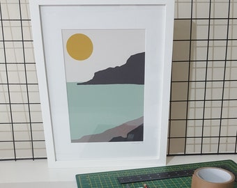 Framed print of 'Calm' by Maxine Walter