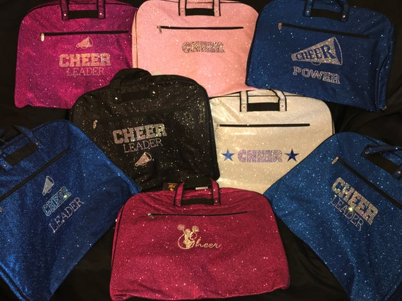 Personalised Glitter Print Dance Gymnast  Suit carrier//Costume Bag  NEW