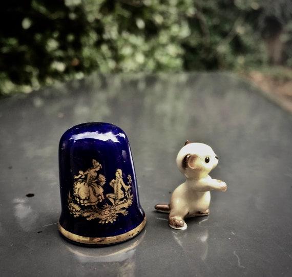 Hagen Renaker miniature Made in America Baby Mouse older version