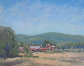 Somers Cow Farm-en plein air