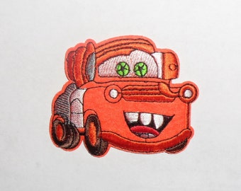 TOW MATER Embroidered Iron on Patch 3 1/4