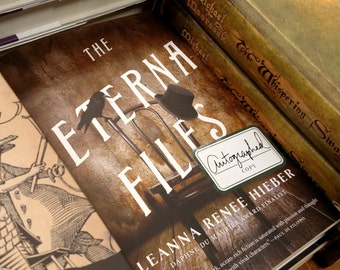Signed, personalized Hardcover copy of THE ETERNA FILES (Book 1) by Leanna Renee Hieber