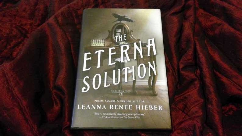 THE ETERNA SOLUTION: Signed personalized Hardcover copy Book image 1