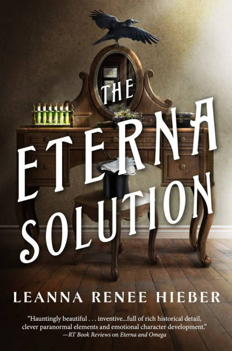THE ETERNA SOLUTION: Signed personalized Hardcover copy Book image 0