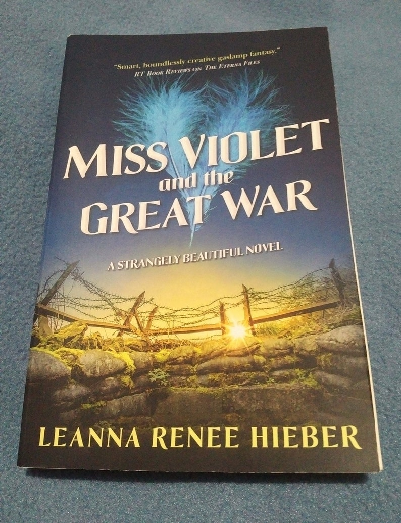 Miss Violet and The Great War: a Strangely Beautiful novel  image 0