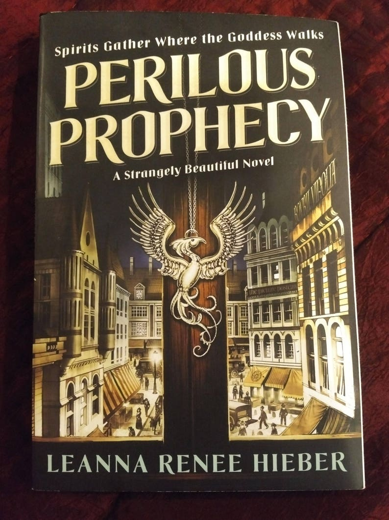 Signed personalized copy of PERILOUS PROPHECY a Strangely image 0