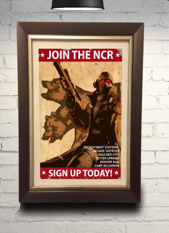 New California Republic NCR Propaganda Print 11x17 inches