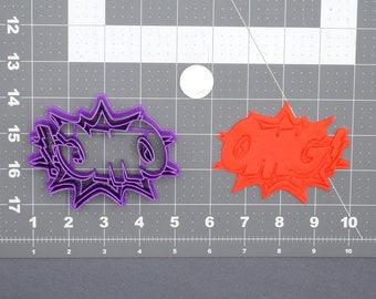 Pow Number 4 266-448 Cookie Cutter Set