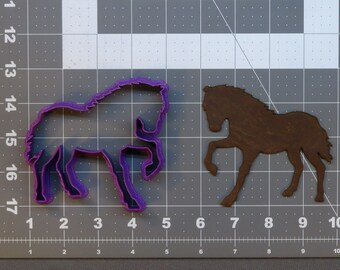 Pony Horse Cookie Cutter CHOOSE YOUR OWN SIZE!