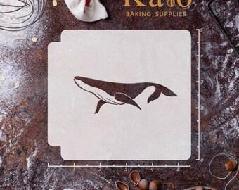 Whale Stencil Etsy