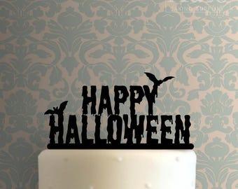 Happy Halloween 100 Cake Topper